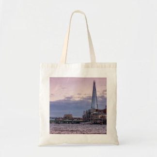 The Shard In The Evening, London UK Budget Tote Bag