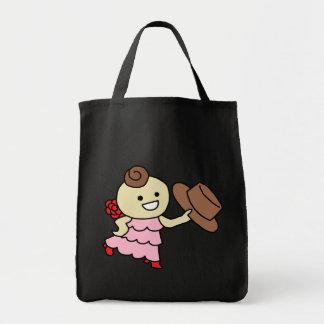The shiyotsupingutoto bo u it does, child brown tote bag