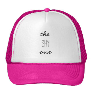 THE SHY ONE - PERSONALITY TRUCKER HAT
