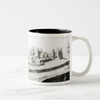 The Siege of Basing House, 1645 Two-Tone Coffee Mug