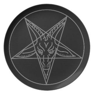 The Sigil of Baphomet Plate
