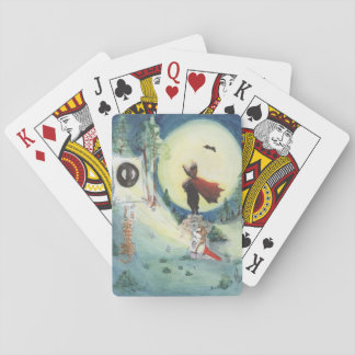 The Silent Protector Playing Cards