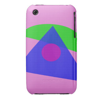 The Simplest Geometric Abstract Art iPhone 3 Case