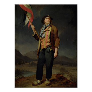 The Singer Chenard, as a Sans-Culotte, 1792 Poster