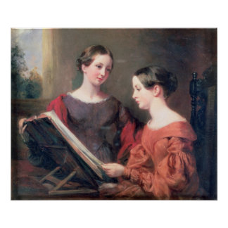 The Sisters, 1839 Posters