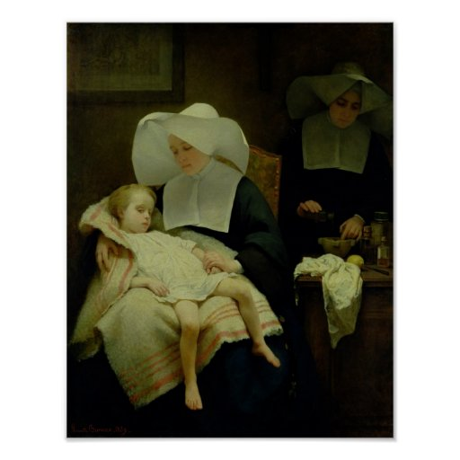 The Sisters of Mercy, 1859 Print