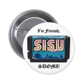 The Sisu Kid BUTTON
