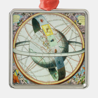 The Situation of the Earth in the Heavens Christmas Ornament