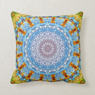 """The Sky Within Mandala"" Pillow"