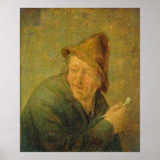 The Smoker, 1640 Print