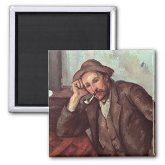 The Smoker, 1891-92 Square Magnet