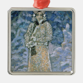 The Snow Maiden, a sketch for the Opera Christmas Ornament