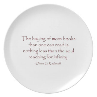 The Soul Reaching for Infinity Dinner Plate