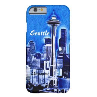 The Space Needle - Seattle, Washington Barely There iPhone 6 Case