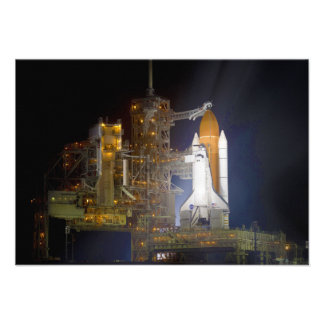 The Space Shuttle Discovery at Launch Pad 39A Personalized Invitation