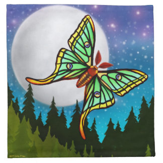 The Spanish Moon Moth Napkins
