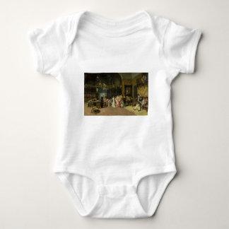 The Spanish Wedding La Vicaría by Mariano Fortuny Baby Bodysuit