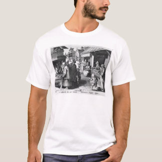 The Spectacles Seller, engraved by Jan Collaert T-Shirt