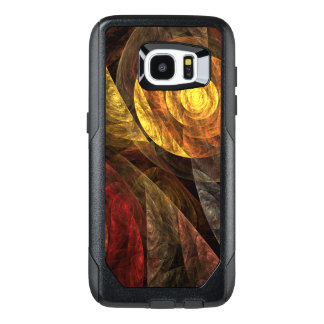 The Spiral of Life Abstract Art OtterBox Samsung Galaxy S7 Edge Case