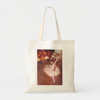 The Star (Dancer on the Stage) by Edgar Degas Tote Bag