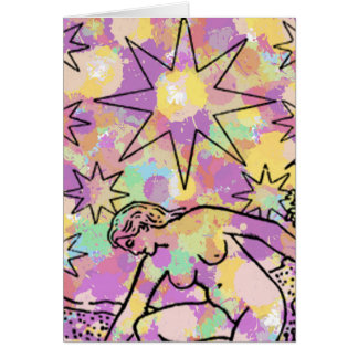 The Star Tarot Party Card