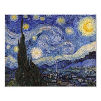 The Starry Night Photo Print