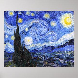 The Starry Night Van Gogh Poster