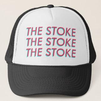 """""""The Stoke"""" 3-D trucker hat"""