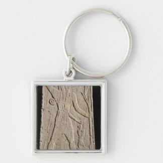 The storm-god Baal with a thunderbolt Key Ring