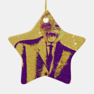 The Strange Business Man Christmas Ornament