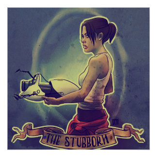The Stubborn Poster