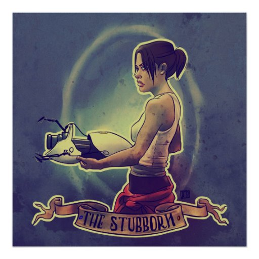 The Stubborn Poster