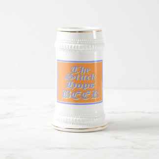 The Stuck Hops BEER Double Bubble Stein