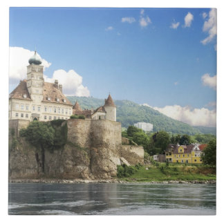 The stunning Schonbuhel Castle sits above the Tile