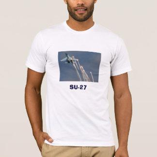 The Sukhoi Su-27 (Russian: Сухой Су-27) T-Shirt