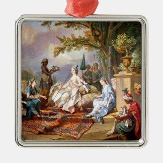 The Sultana Served by her Eunuchs Christmas Ornament