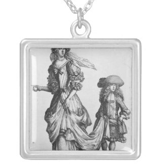 The Summer city dress, 1678 Silver Plated Necklace