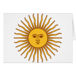 THE SUN OF MAY (Sol De Mayo) ~~.png Greeting Card