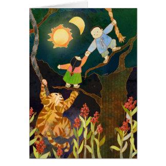The Sun & The Moon: Korean Folk Tale Card