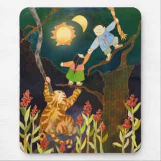 The Sun & The Moon: Korean Folk Tale Mousepad