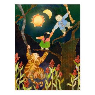The Sun & The Moon: Korean Folk Tale Postcard