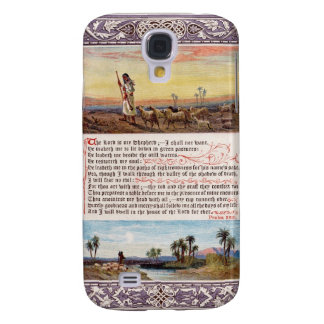 The Sunday at Home Psalm 23 King James' Version Galaxy S4 Case