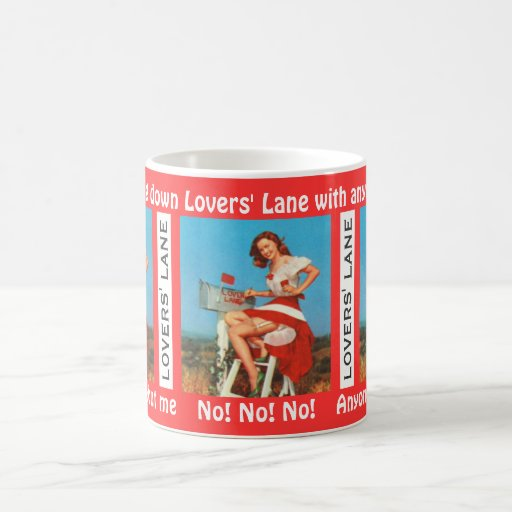 The Sunny Smile of Lovers' Lane Coffee Mugs