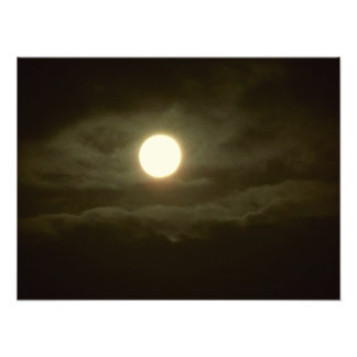 the super moon photo print
