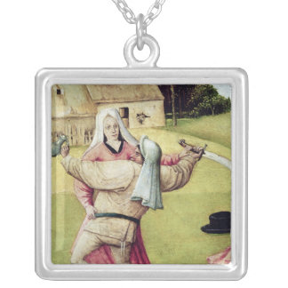 The Table of the Seven Deadly Sins Silver Plated Necklace