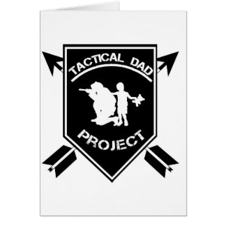 The Tactical Dad Project Card