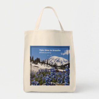The Take Time to Breathe Tote Bag