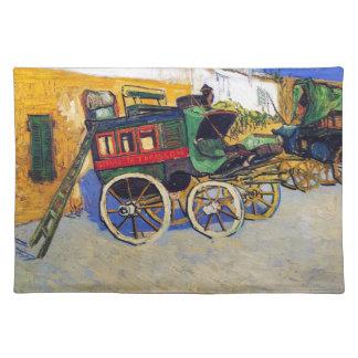 The Tarascon Diligence Vincent Van Gogh Placemat