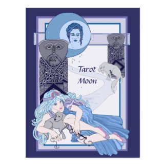 The Tarot Moon Postcard