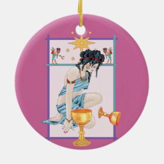 The Tarot Star Christmas Ornament